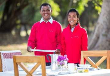 Our friendly staff offer table service